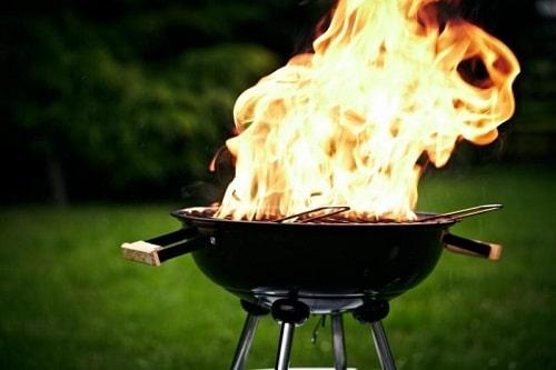 Wenn der Grill Brennt