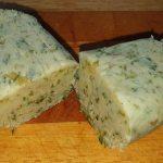 Knoblauch Gorgonzola Butter