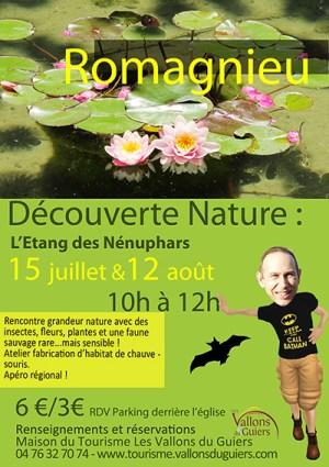 Affiche L'Espace Naturel Sensible de Romagnieu ballad et vous