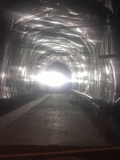 Tunnel du Chat travaux ballad et vous