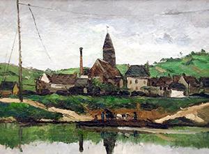 Vue de bonniares - Paul Cézanne
