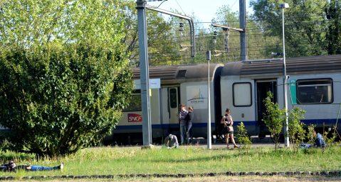 Béon, le train