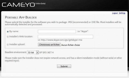 cameyo-online-portable