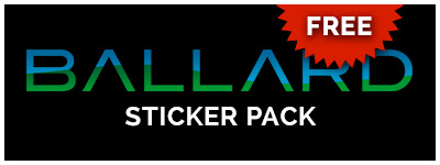 FREE Ballard Sticker Pack