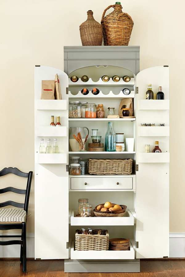 Paulette Server Ballard Designs Vtwctr, Kitchen Pantry Cabinet Ballard Designs