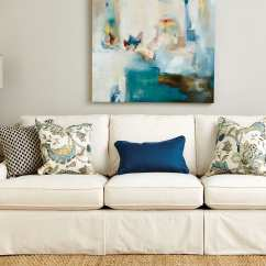 Living Room Decorative Pillows Built In Ideas Guide To Choosing Throw How Decorate Blue On An Off White Couch