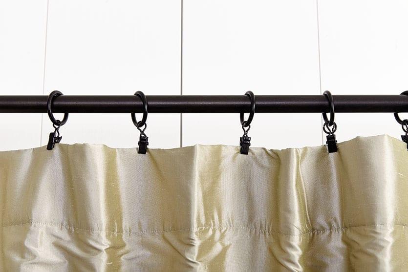 curtain rod hooks clips