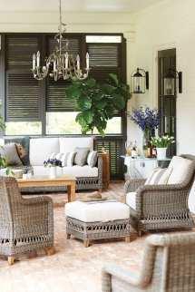 Ways Arrange Porch Furniture