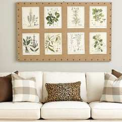 Wall Sofa Oak Table Plans What To Put On The Blank Over 10 Ways Fill Space Your