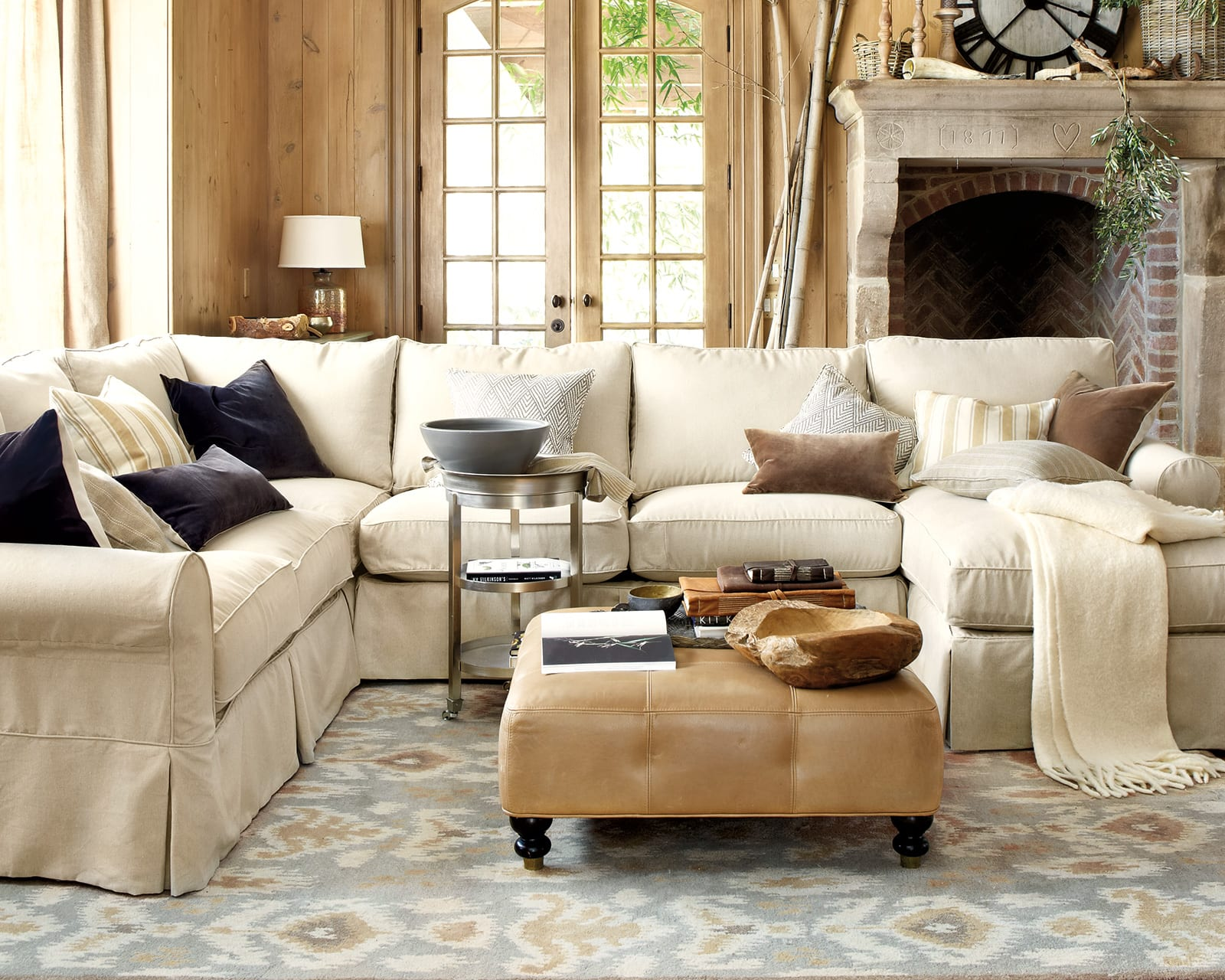 coffee table size for sectional sofa apartment leather with chaise tables sofas how to match a