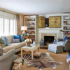 Hiding Tv In Living Room Corner Couch Small 8 Ways To Hide Your Plain Sight How Decorate Maggie Griffin Her Television Behind A Folding Chinese Screen Front