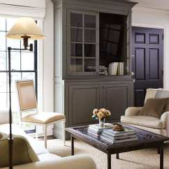 Hiding Tv In Living Room Paint Ideas Photos 8 Ways To Hide Your Plain Sight How Decorate Interior Designer Virginia Cheek S Custom Television Cabinet Camouflages A Screen