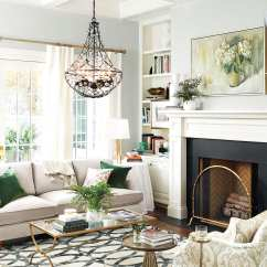 Gray Paint Colors For Living Room Beautiful Curtains Ballard Designs Spring 2018 How To Decorate Benjamin Moore S Bunny Color In From Catalog