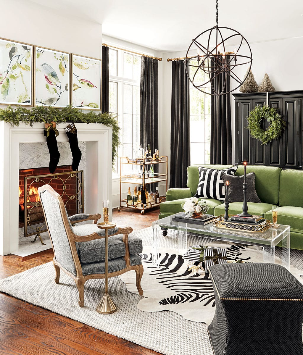 holiday color trend black