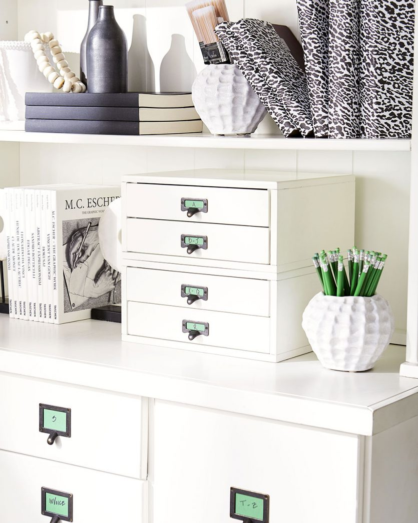 File storage in home office