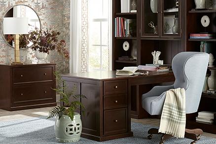 ballard home office design Modular Home Office Furniture   Ballard Designs