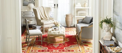 living room rug size guide traduzione in italiano ballard designs colorful showing sizes