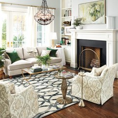 Living Room Rug Size Guide Green Ballard Designs Antelope Print In Dining Sizes
