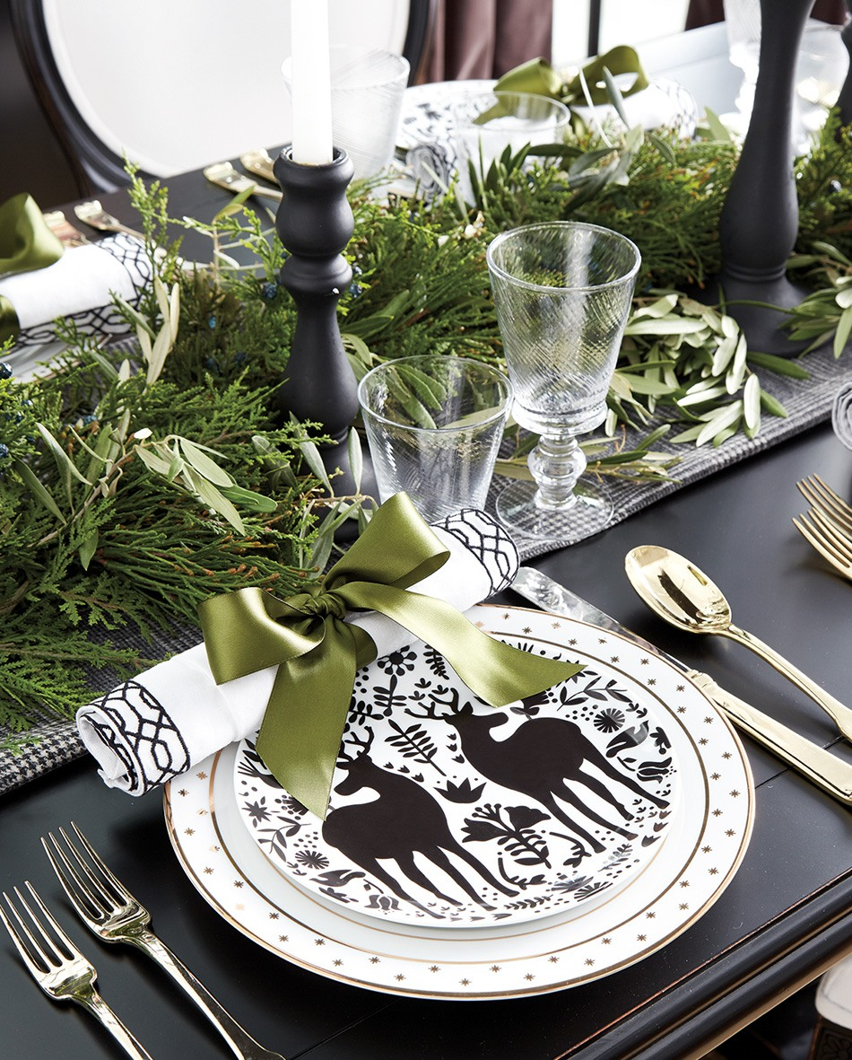 table setting ideas for holiday