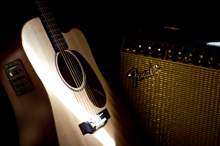Acoustic Guitar and Amp.jpg