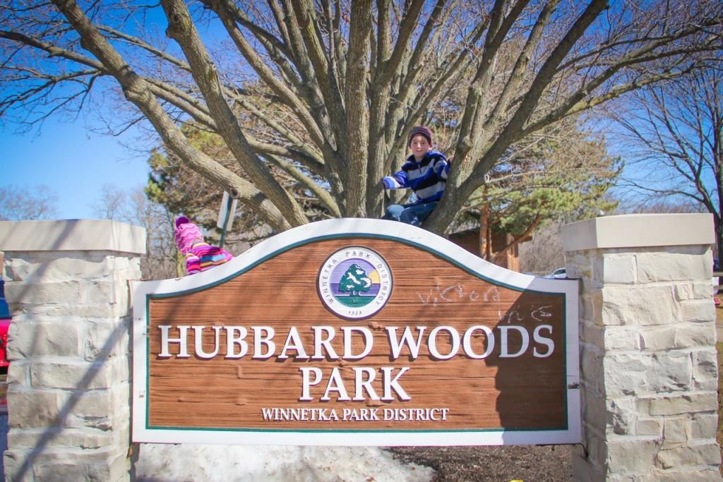 Hubbard Woods Park in Winnetka