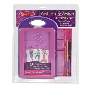 Melissa and Doug Fashion Design Activity Kit