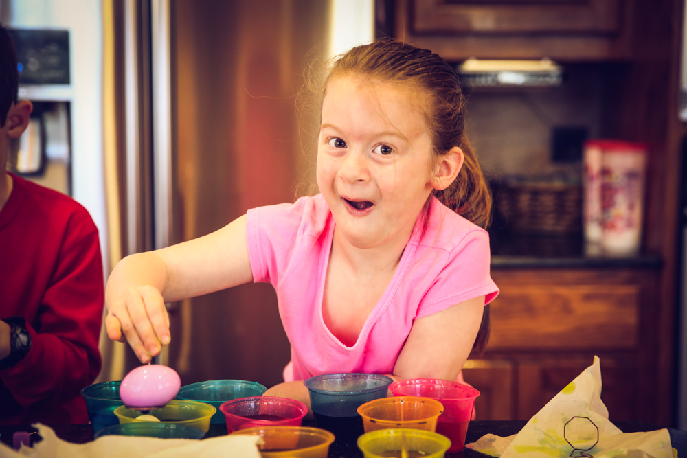 Decorating Eggs with Paas Egg Decorating Kits