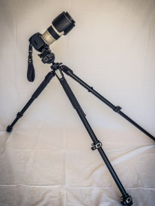 Manfrotto Tripod with Canon 5D-Mark III