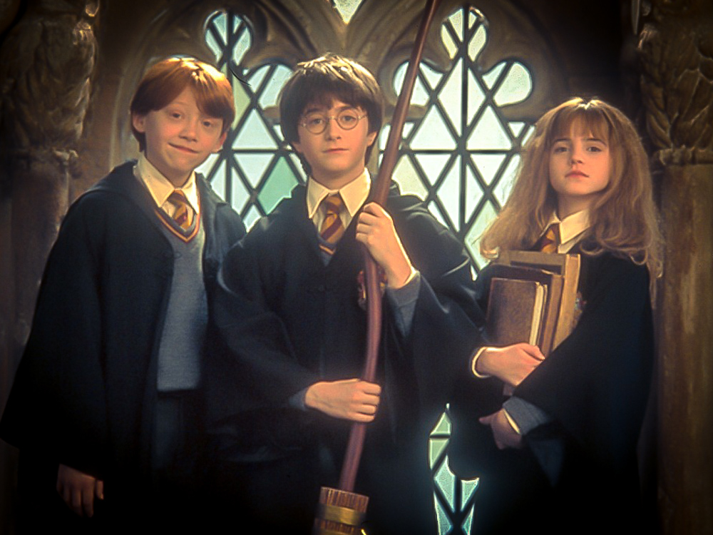 Here they are... The 3 kids who captured my attention way back in 1997! What an excellent cast to play the main characters in the Harry Potter series!