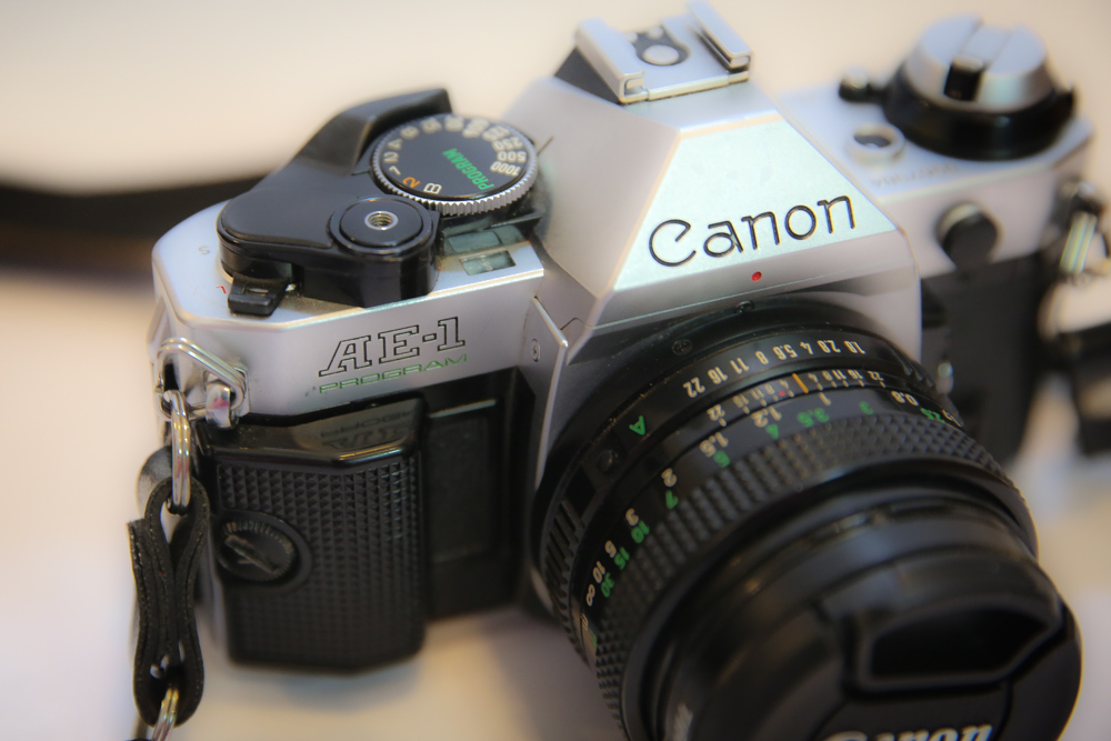 Canon AE-1 Program 35mm Film Camera