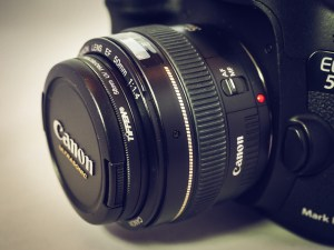 """It almost makes my camera look like a """"toy camera,"""" because the lens is so small!"""
