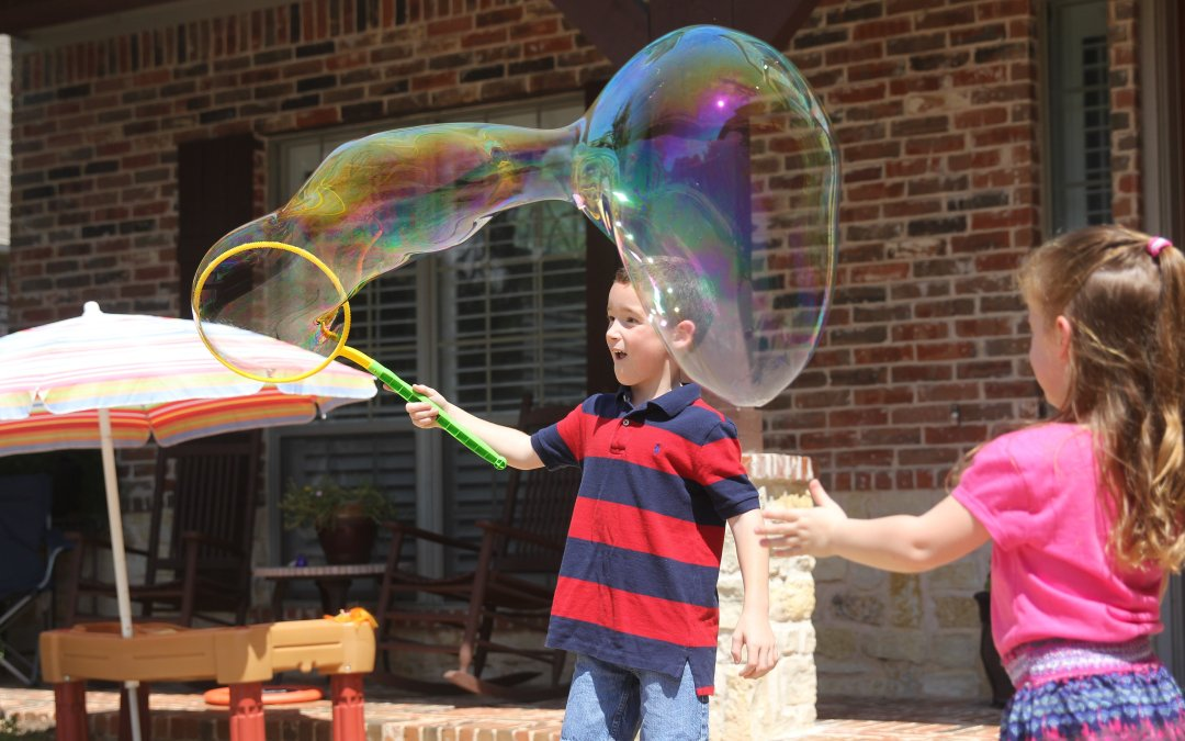 Giant Bubbles and Water Balloons…All You Need for Summer Fun!