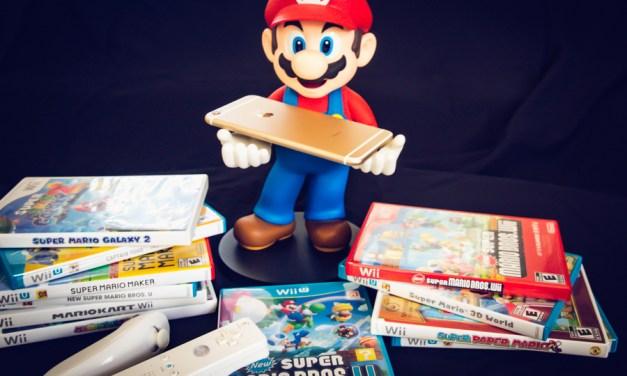 Super Mario Bros. for the iPhone?  Finally…