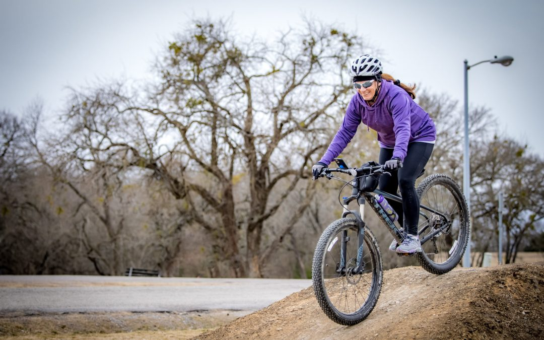 Mountain Biking at Erwin Park – When You Can't Go Skiing, This Is a Great Alternative…