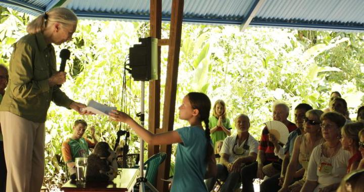 Dr. Jane Goodall Visited the Osa Field Institute 1