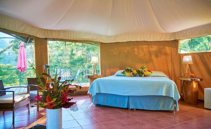 Manoas Luxury Camping, Uvita Hotel, Costa Rica, carpas