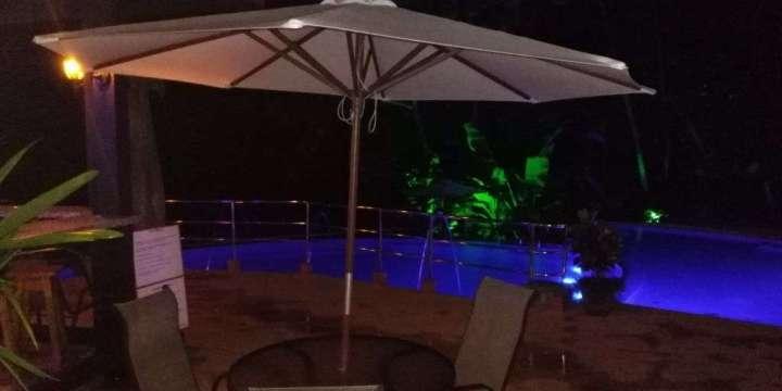 Sunset in paradise, vista ballena hotel, Mi amore Restaurant, pool