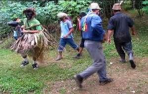 """The Negritos Dance - A tradition in Boruca called """"La Mura"""""""