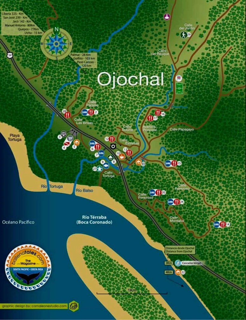 Ojochal Map Business Directory