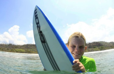 Sam Reidy - For the second time Costa Rican National Surf Champion