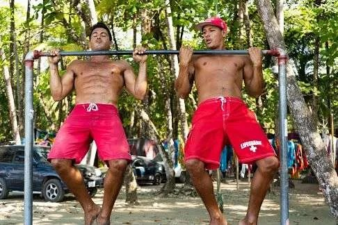 Fit Dominical Ejercicio En forma Salvavidas Lifeguards Training
