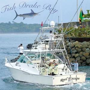 reel escape fishing in drake costa rica boxad