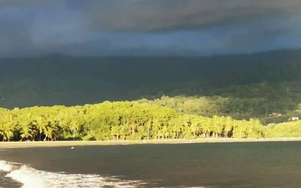 Golden hour South Pacific Costa Rica