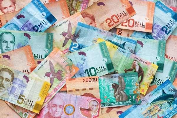 Bellos Billetes de Banco de Costa Rica