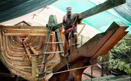 SailCargo Ceiba Wooden Cargo Ship
