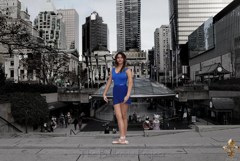 Ballerina project Vancouver at Robson Square