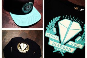 Benny Gold X Diamond Supply Co. capsule, Fall 2012