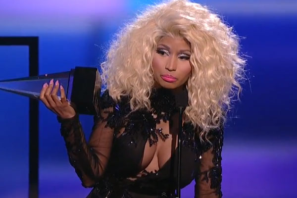 Nicki Minaj at the 2012 American Music Awards