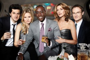 House of Lies cast - Clyde, Jeannie, Marty, Monica, and Doug