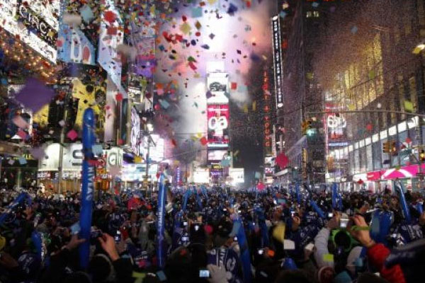 Times Square for New Year's Eve